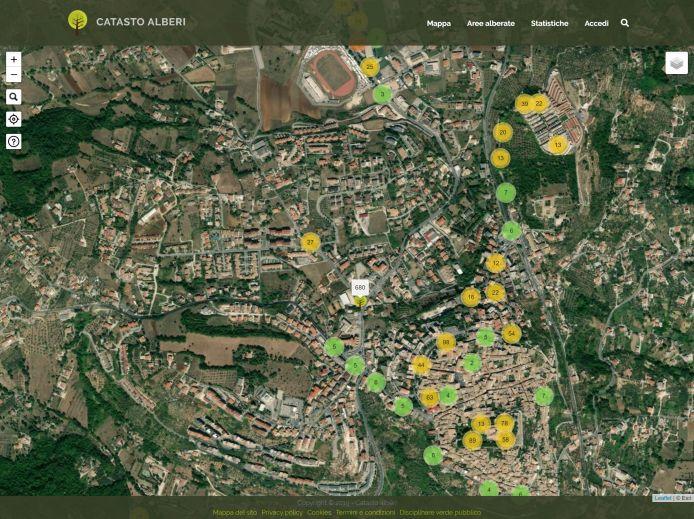 Screenshot mappa